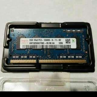Apple 2GB DDR3 1600MHz PC3-12800S RAM For Macbook, Original