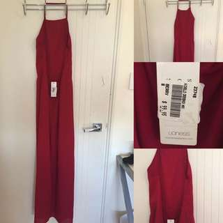 Lioness Berry Cross Back Maxi Size 8