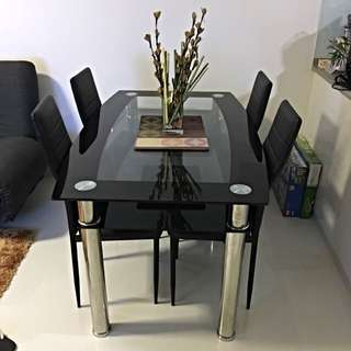 Dining Table and Chairs ***reserved***