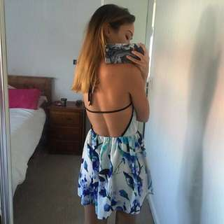 Boutique Backless Dress. Size 6