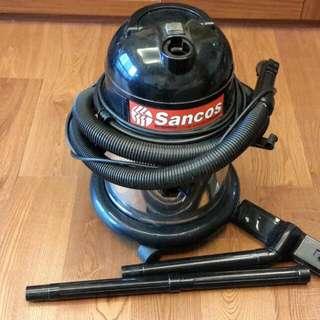 SANCOS乾.濕.吹三用真空吸塵器3220W-14L風力大.吸力強/台灣製造