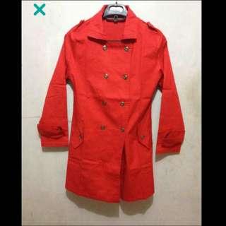 SALE - Red Coat Preloved / Second