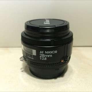 AF Nikkor 28mm 2.8D (PRICE REDUCED)