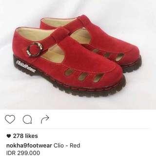 Nokha9 Red Vintage Shoes