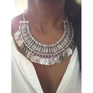 Coin Boho Necklace