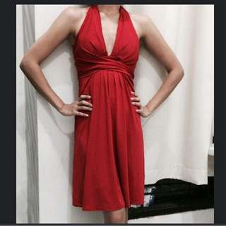 Body and soul Red party dress