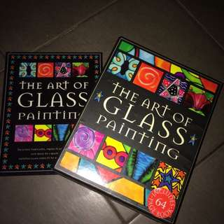 The Art Of Glass Painting Box And Kit