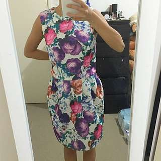 KNIGHT ANGEL Floral Dress