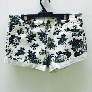 Brand New Forever 21 Floral Shorts