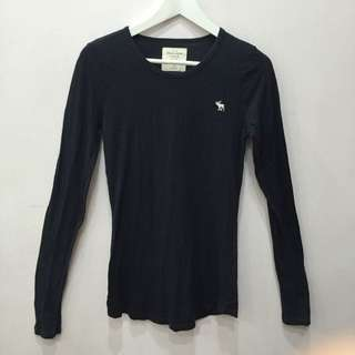 A&F Long sleeve Fitted Top