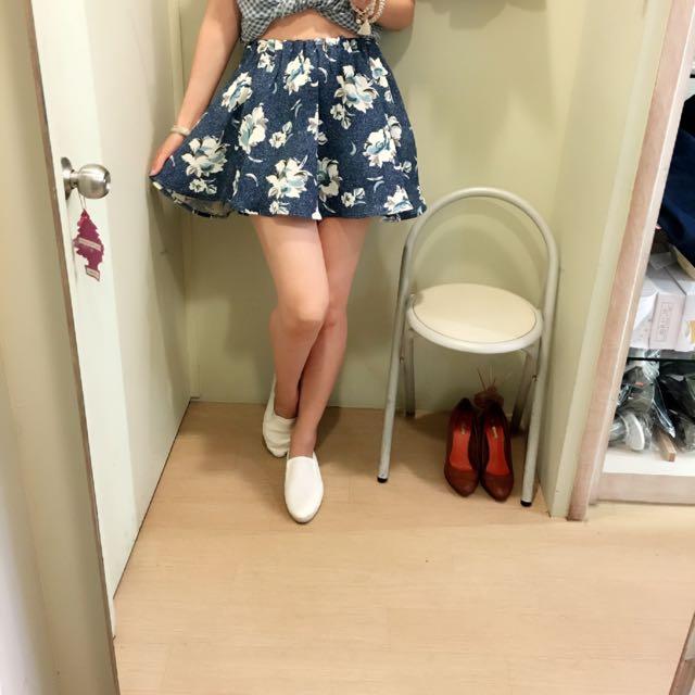 正韓 花色裙褲
