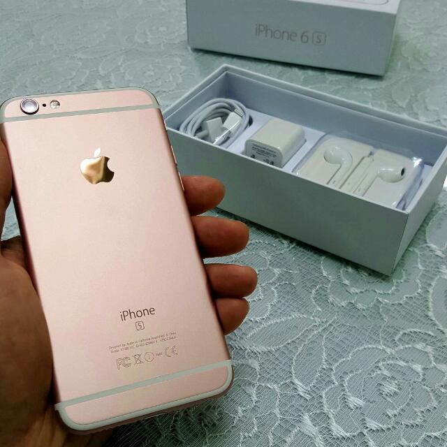 玫瑰金 iphone6s 4.7