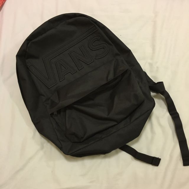 BN Black vans backpack