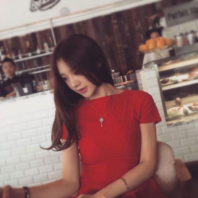 BNWT Red Skater Dress