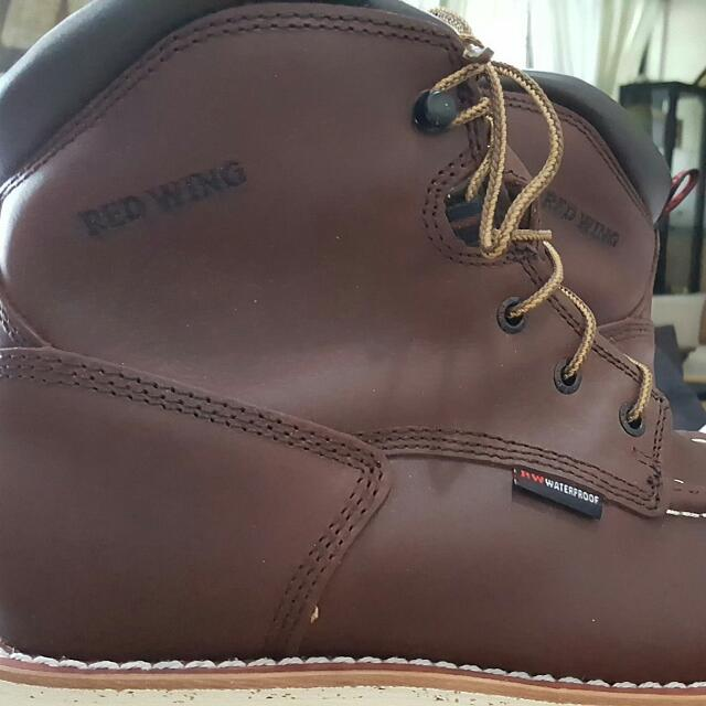 f95a9bbdfe4 Brand New Red Wing 405 US8d, Men's Fashion on Carousell