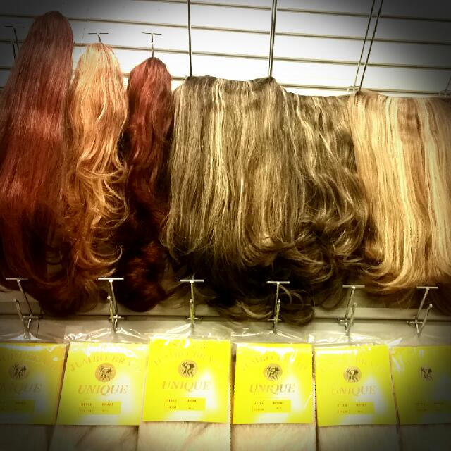 Clip In Synthetic One Piece Extensions