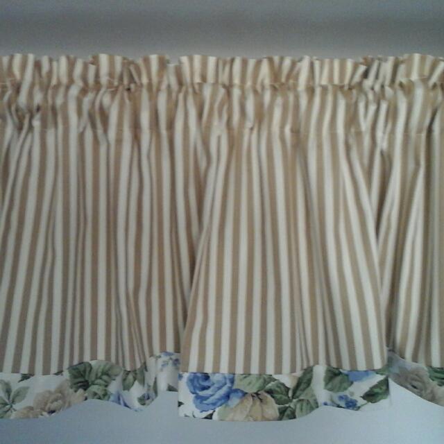 Curtain Valence Kitchen Window Door Furniture On Carousell