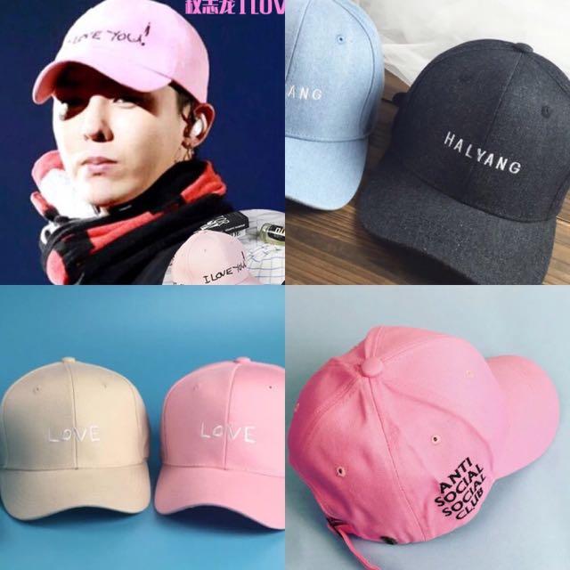 c4e9e8ecd New PO baseball cap / korean cap / ulzzang cap / harajuku cap / GD cap /  Winner cap / BTS cap / EXO cap / pastel cap / idol cap
