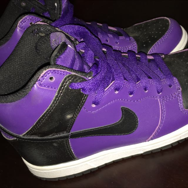 Nike Purple High tops