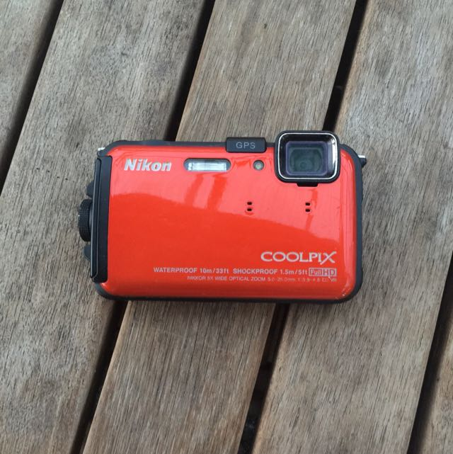 Nikon Waterproof Coolpix Camera