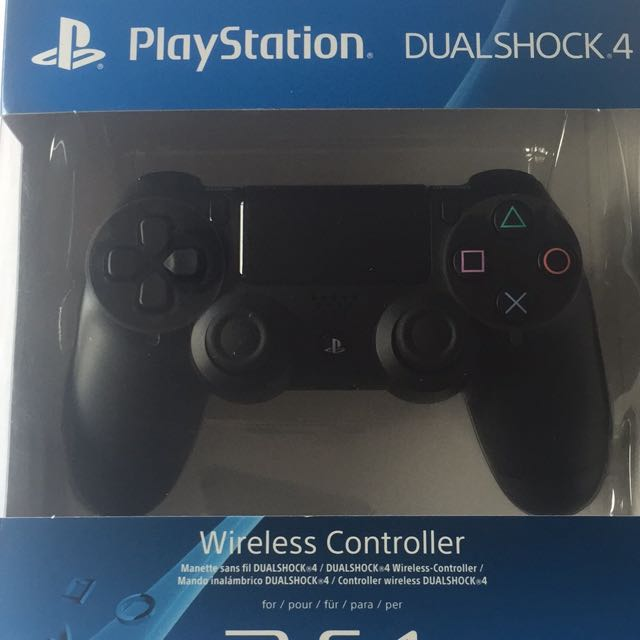 PlayStation Dual Shock 4 Controller Black