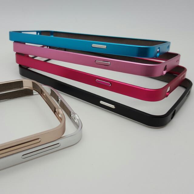 SAMSUNG S4/S5 鋁合金抗刮烤漆邊框