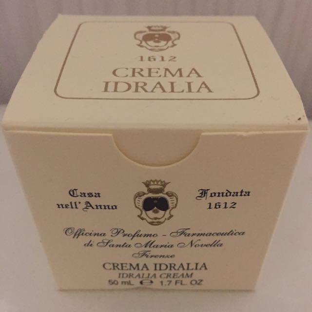 Santa Maria Novella 高效保濕濕隔離面霜crema Idralia Idratante 50ml