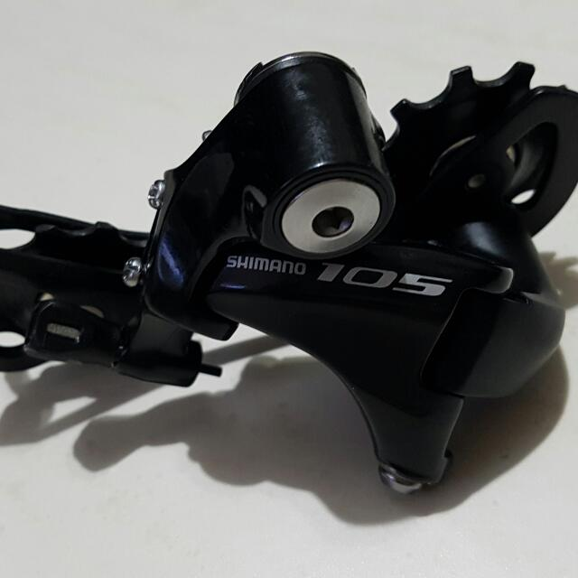 Shimano 105 Rear Derailleur 11 Speed (Long Cage), Sports on