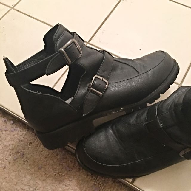 Sportsgirl Leather Ankle Boots