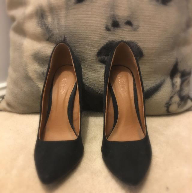 Therapy Heels BLACK