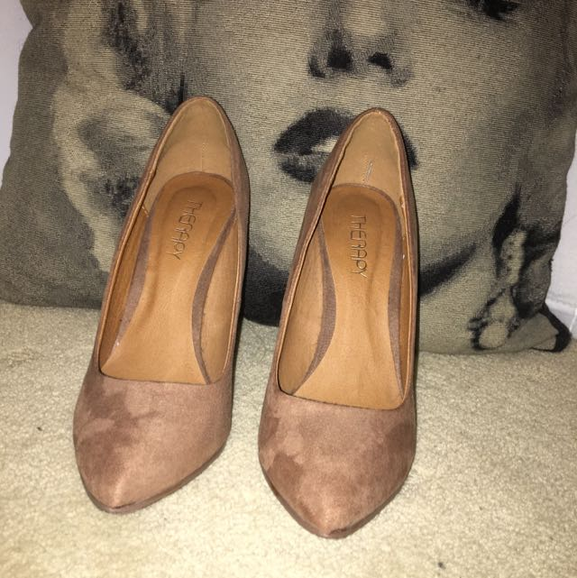 Therapy Heels TAUPE