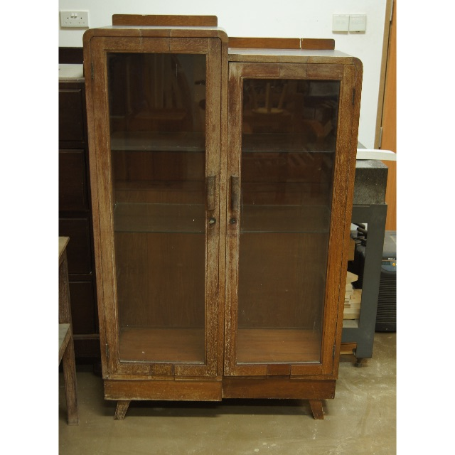 Vintage Glass Door Display Cabinet Vintage Collectibles On Carousell