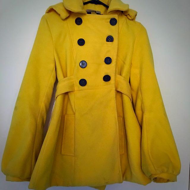 Yellow Thick coat