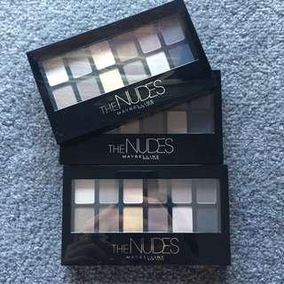 Maybelline Nude Eyeshadow Palette