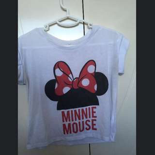MINNIE MOUSE CROP