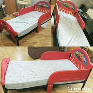 Mcqueen Cars Toddler Bed