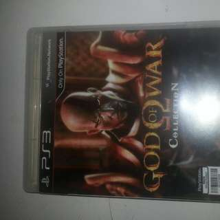 selling used ps3 god of war 1 and 2 in a single disc..