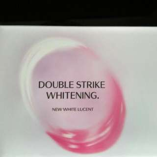 Shiseido Double Strike Whitening - New White Lucent