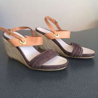 Brand New Wedge Sandals Shoes Size 37
