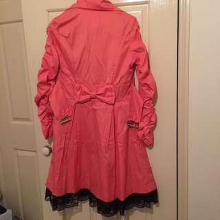 BRAND NEW COAT PINK/RED free shipping with tracking
