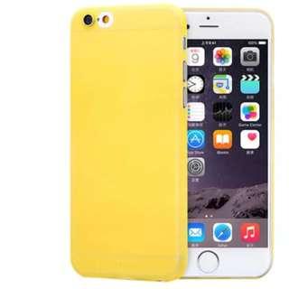 IPhone 6 / 6s Plus Yellow Hardback Case