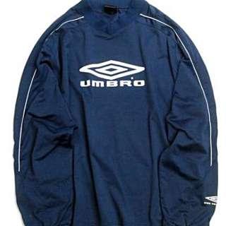 UMBRO V領球衣 Navy