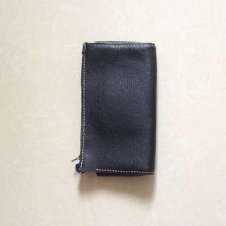 Handmade 牛皮 化妝袋 筆袋 皮革