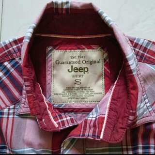 Authentic JEEP Checkered Shirt