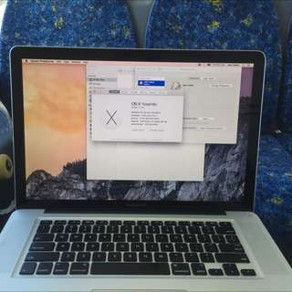 MacBook Pro 15-Inch 2011 i7, 16GB Ram, Dedicated Graphics, SSD And 12 Months Apple Warranty