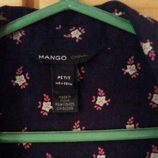 mango shirt petite for size S