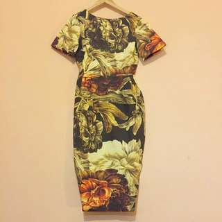 ASOS Floral Dress - Size 8