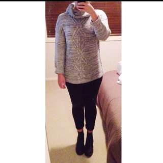 Don't Ask Amanda Roll Neck Cable Knot