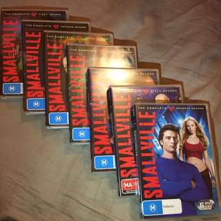 DVD Set Smallville Seasons 1-7