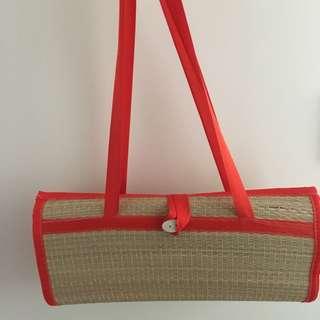 folding Beach mat bag